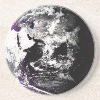 地球の写真 コースター