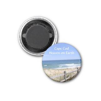 地球の冷蔵庫用マグネットのケープコッドMAのビーチの天国 マグネット