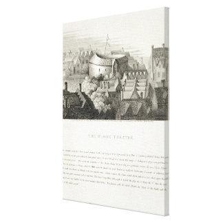 地球の劇場、c.1647はロバートWilによって、出版しました キャンバスプリント