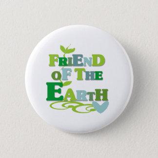 地球の友人 5.7CM 丸型バッジ
