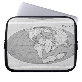地球の図表 ラップトップスリーブ