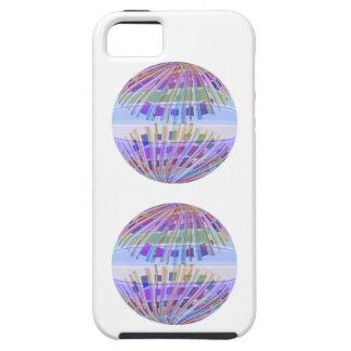 地球の地球:  神聖な紫色の軽いショー iPhone SE/5/5s ケース
