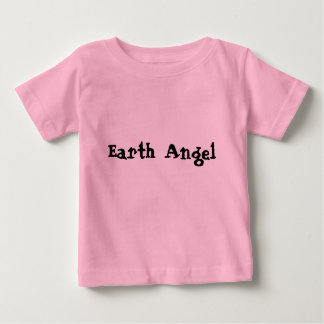 地球の天使のベビーのティー ベビーTシャツ