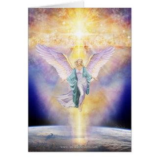 地球の天使の天国 グリーティングカード