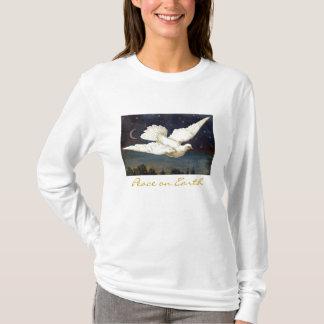 """""""地球の平和""""のTシャツ Tシャツ"""