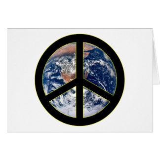 地球の平和 カード