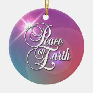 地球の平和 セラミックオーナメント