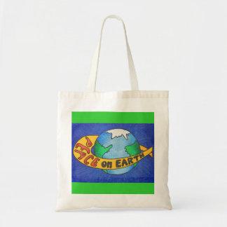 地球の平和 トートバッグ