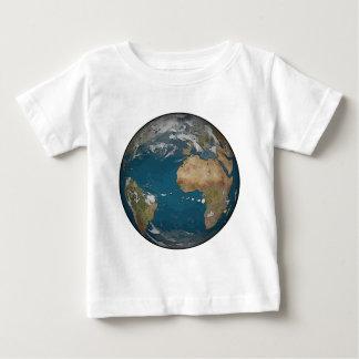 地球の幼児のワイシャツ ベビーTシャツ