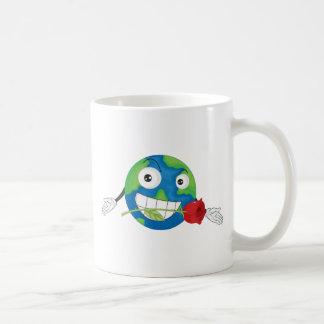 地球の惑星 コーヒーマグカップ