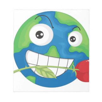 地球の惑星 ノートパッド