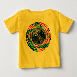 地球の感情のTシャツ ベビーTシャツ