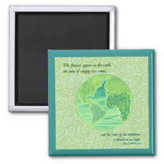 地球の春の聖なる書物、経典 マグネット