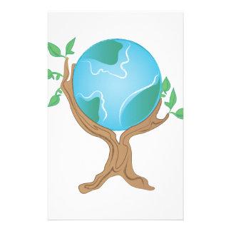 地球の木 便箋