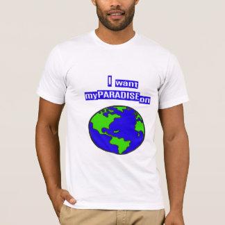地球の楽園 Tシャツ