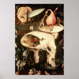 地球の歓喜の庭: 地獄 ポスター