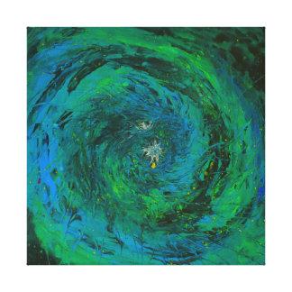 地球の海の精神 キャンバスプリント
