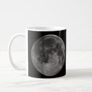 地球の満月 コーヒーマグカップ