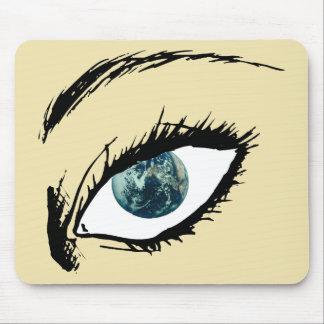 地球の目 マウスパッド