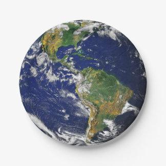 地球の紙皿 ペーパープレート