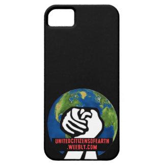地球の統一されたな市民 iPhone SE/5/5s ケース