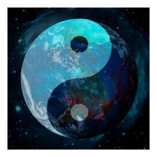 地球の陰陽 ポスター