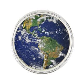 地球の青いMarble_Peace ラペルピン