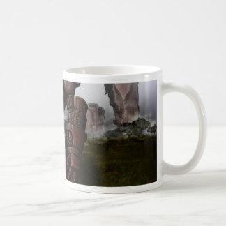 地球の(昆虫)オオカバマダラ、モナーク コーヒーマグカップ