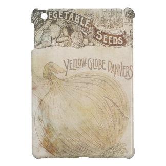 地球のDanversの黄色い野菜はヴィンテージを播きます iPad Miniケース