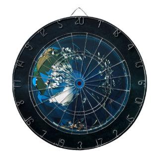 地球のLowPolyの北極 ダーツボード