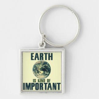 地球はちょっと重要です キーホルダー