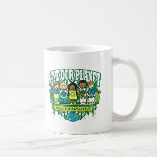 地球はニューハンプシャーをからかいます コーヒーマグカップ