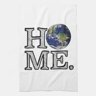 地球は家の博物学者の家のウォーマーです キッチンタオル