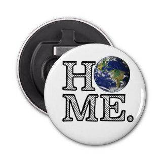 地球は家の博物学者の家のウォーマーです ボタン型 栓抜き
