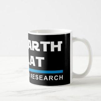 地球は平らなコーヒー・マグです コーヒーマグカップ