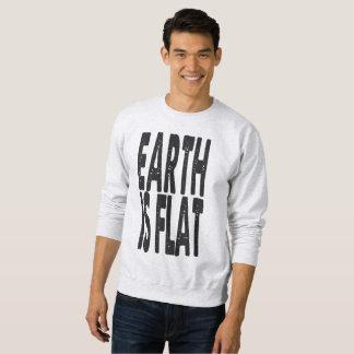 地球は平ら- #1クラシックです スウェットシャツ