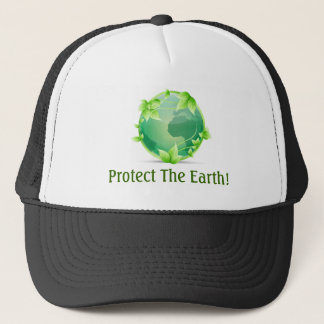 地球を保護して下さい キャップ