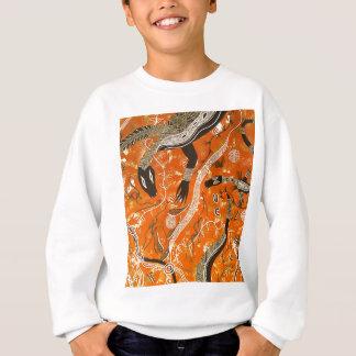 地球を夢を見るGoanna スウェットシャツ