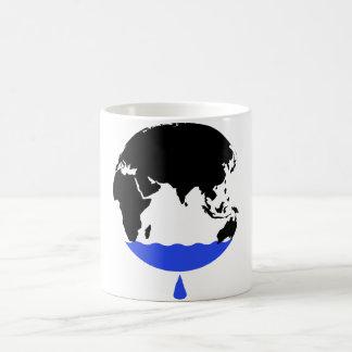 地球を救って下さい コーヒーマグカップ