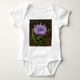 地球アーティチョーク、花のCynara Cardunculus、 ベビーボディスーツ