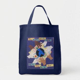 地球バッグ トートバッグ