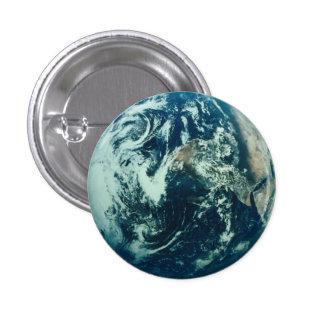 地球ボタン 3.2CM 丸型バッジ