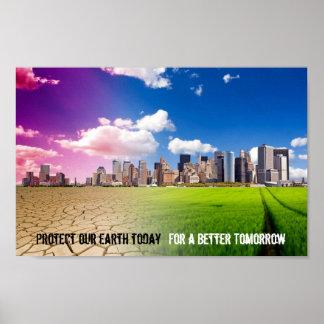 地球ポスターを救って下さい ポスター