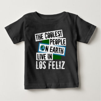 地球上で最もクールな人々はLos Felizに住んでいます ベビーTシャツ
