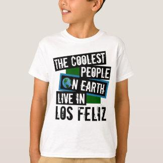地球上で最もクールな人々はLos Felizに住んでいます Tシャツ