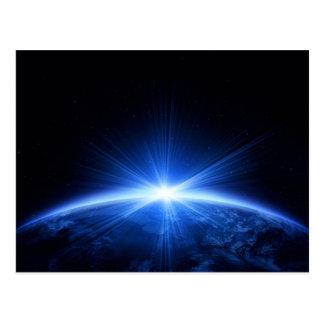 地球上の日の出 はがき
