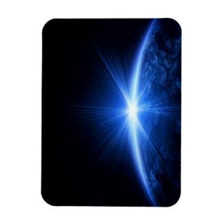 地球上の日の出 長方形マグネット