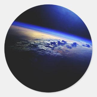 地球上の雲量 ラウンドシール