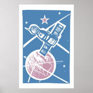 地球上のSoyuz ポスター