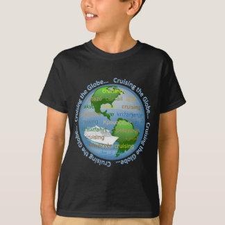 地球巡航します Tシャツ